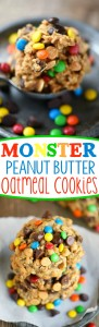 monster-peanut-butter-oatmeal-cookies-collage