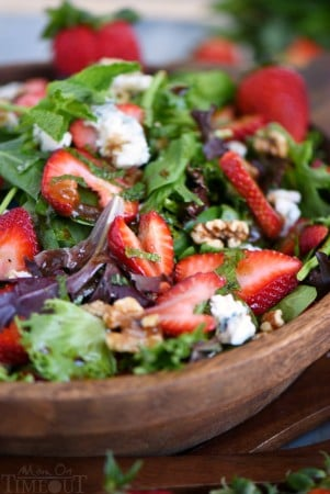 strawberry-mint-salad