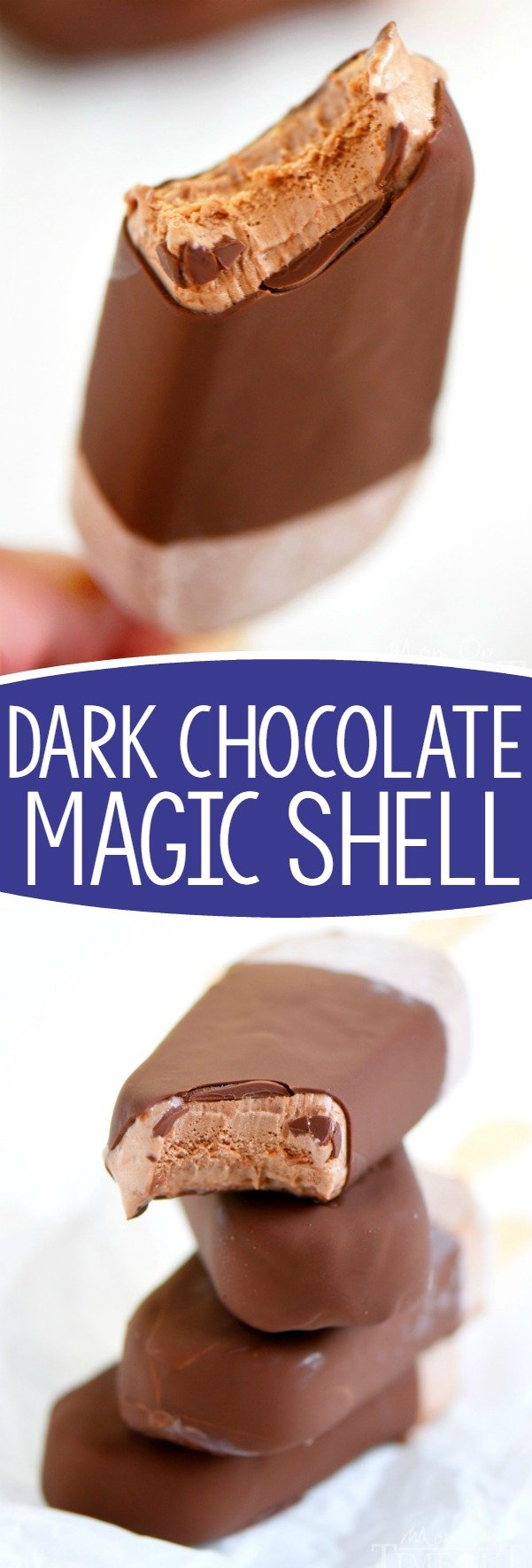 dark-chocolate magic shell recipe