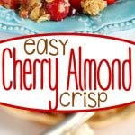 easy-cherry-almond-crisp-collage