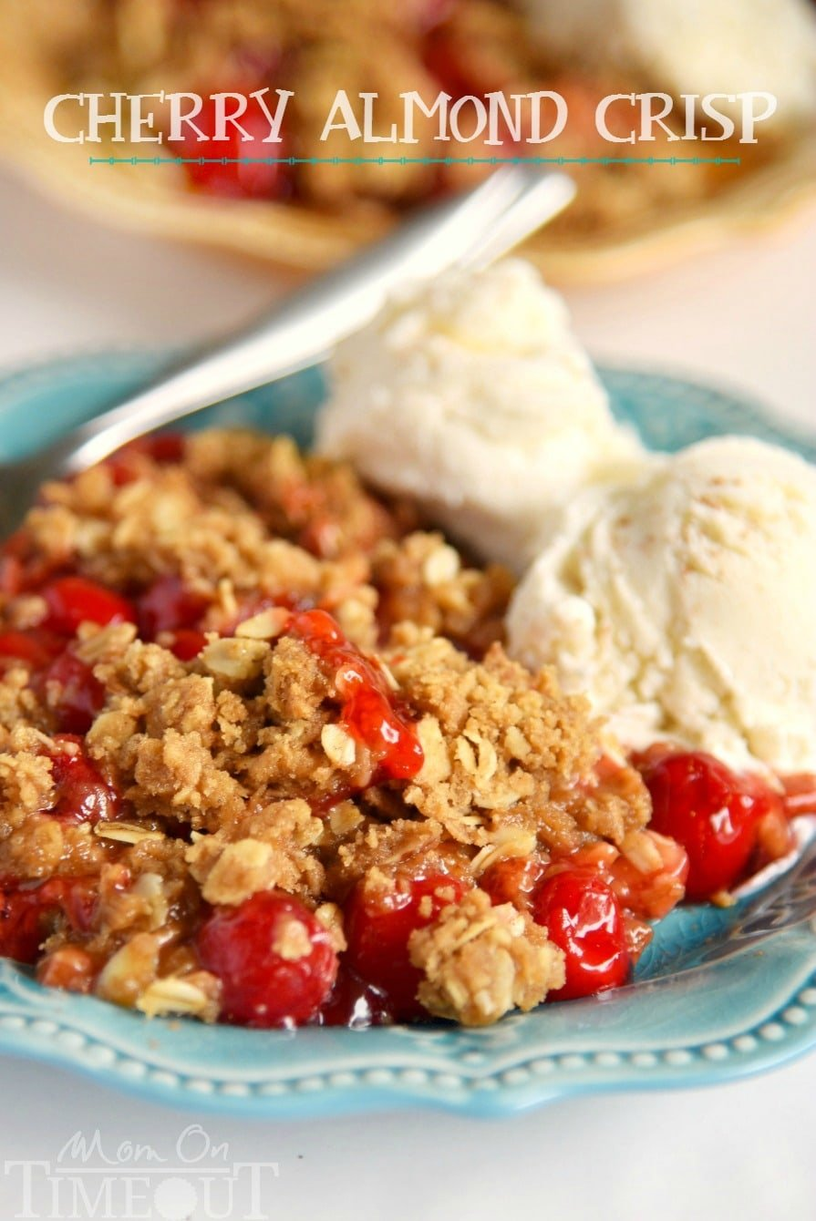 This Easy Cherry Almond Crisp will be the star of the show no matter ...