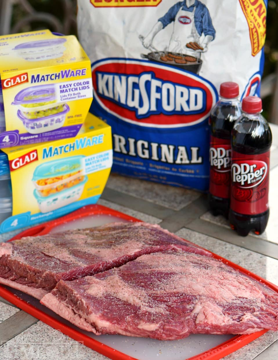 Your new favorite - Beef Brisket with Dr Pepper Barbecue Sauce! Feeding a crowd? Look no further for the perfect recipe to serve up from your grill! The Dr Pepper Barbecue Sauce is going to blow your mind!