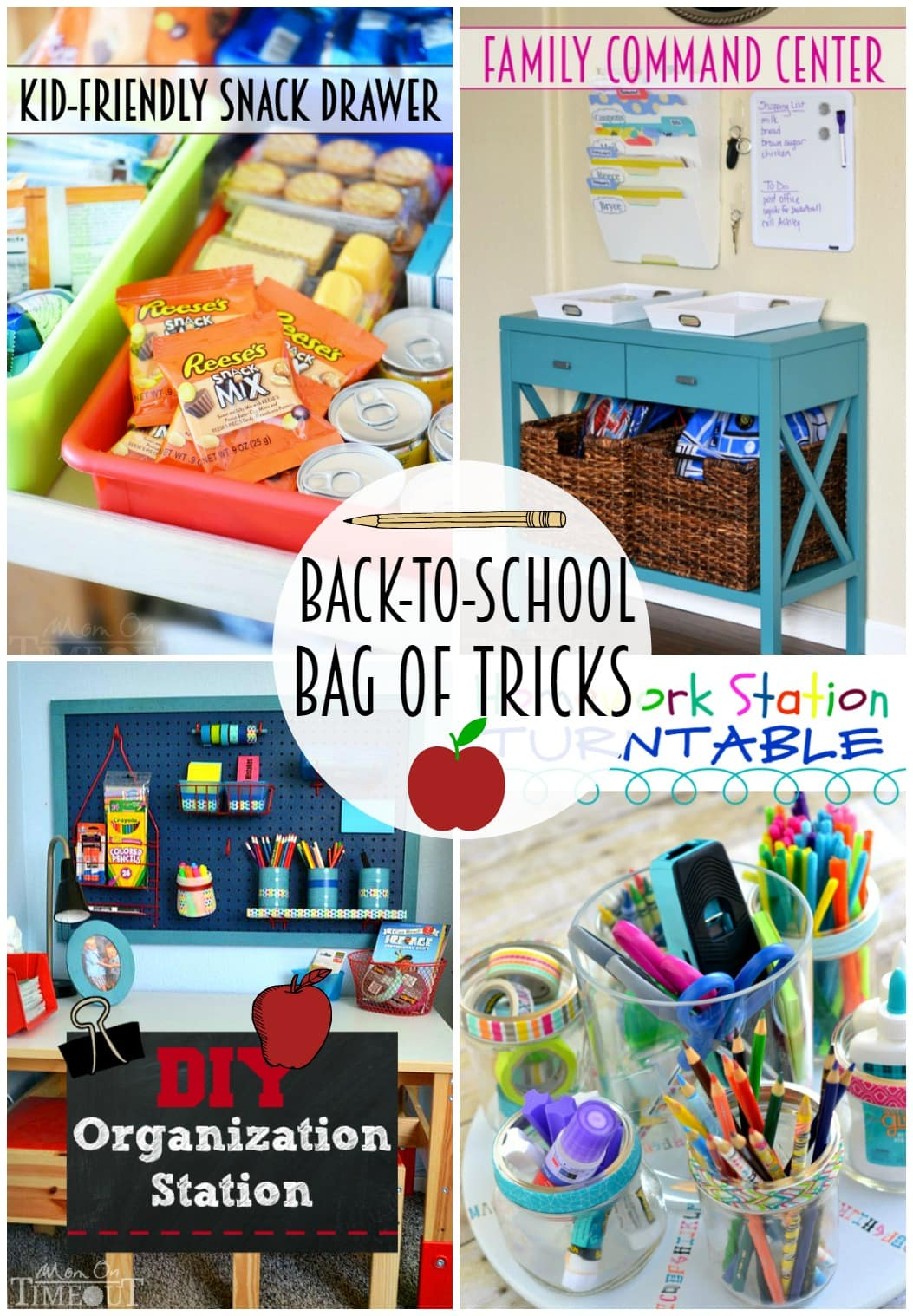 Back To School Mom Hacks - Mom On Timeout