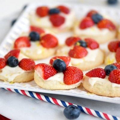 Berries 'N Cream Cookies
