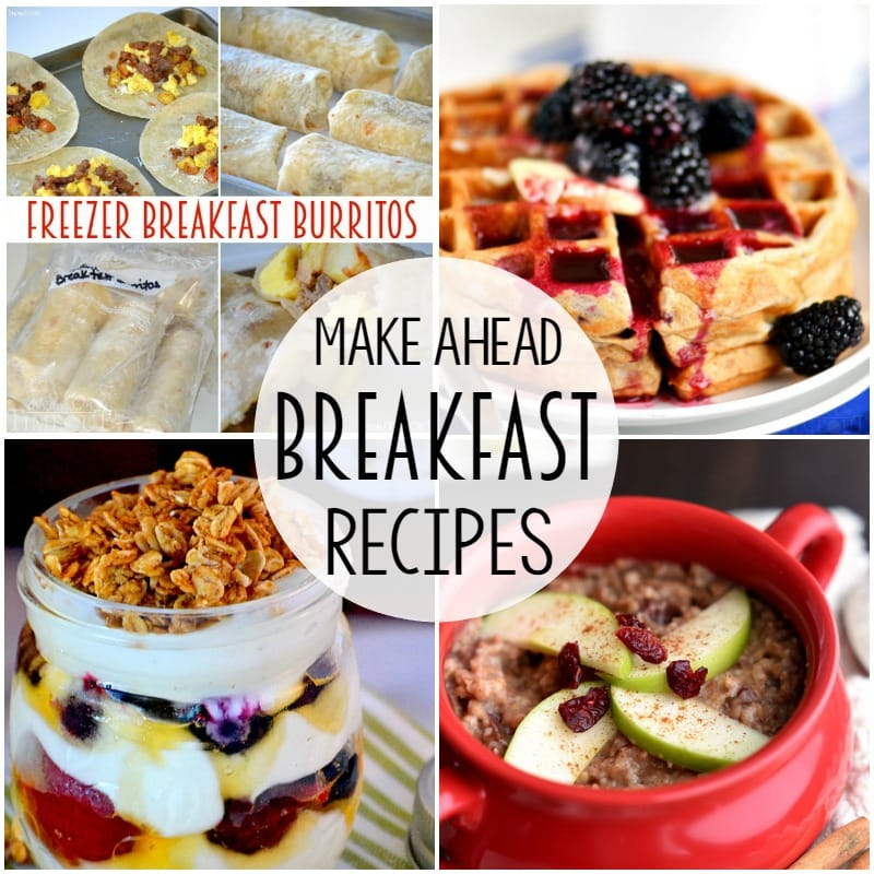 Everything you need for a successful back-to-school experience! Make ahead breakfast recipes, tasty lunch ideas, quick and easy dinners PLUS my favorite Back To School Mom Hacks!