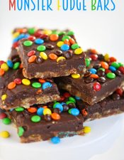 Monster Fudge Bars