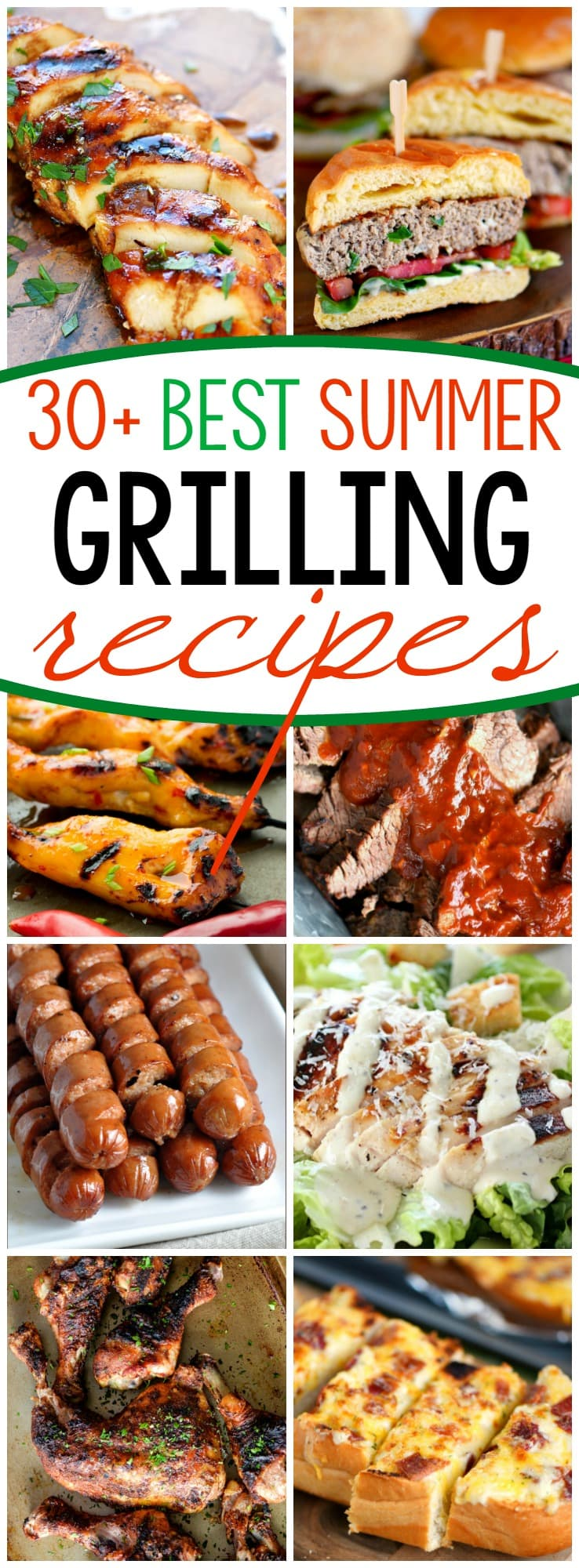 It's too hot to cook indoors! Fire up that grill and try one of these 31 Grilling Recipes for Summer! Your air conditioning bill will thank you.
