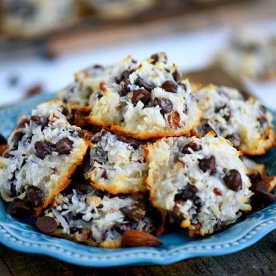 Almond Joy Cookies – Just 4 Ingredients!