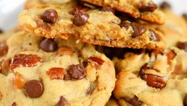 Chocolate Chip Turtle Pudding Cookies