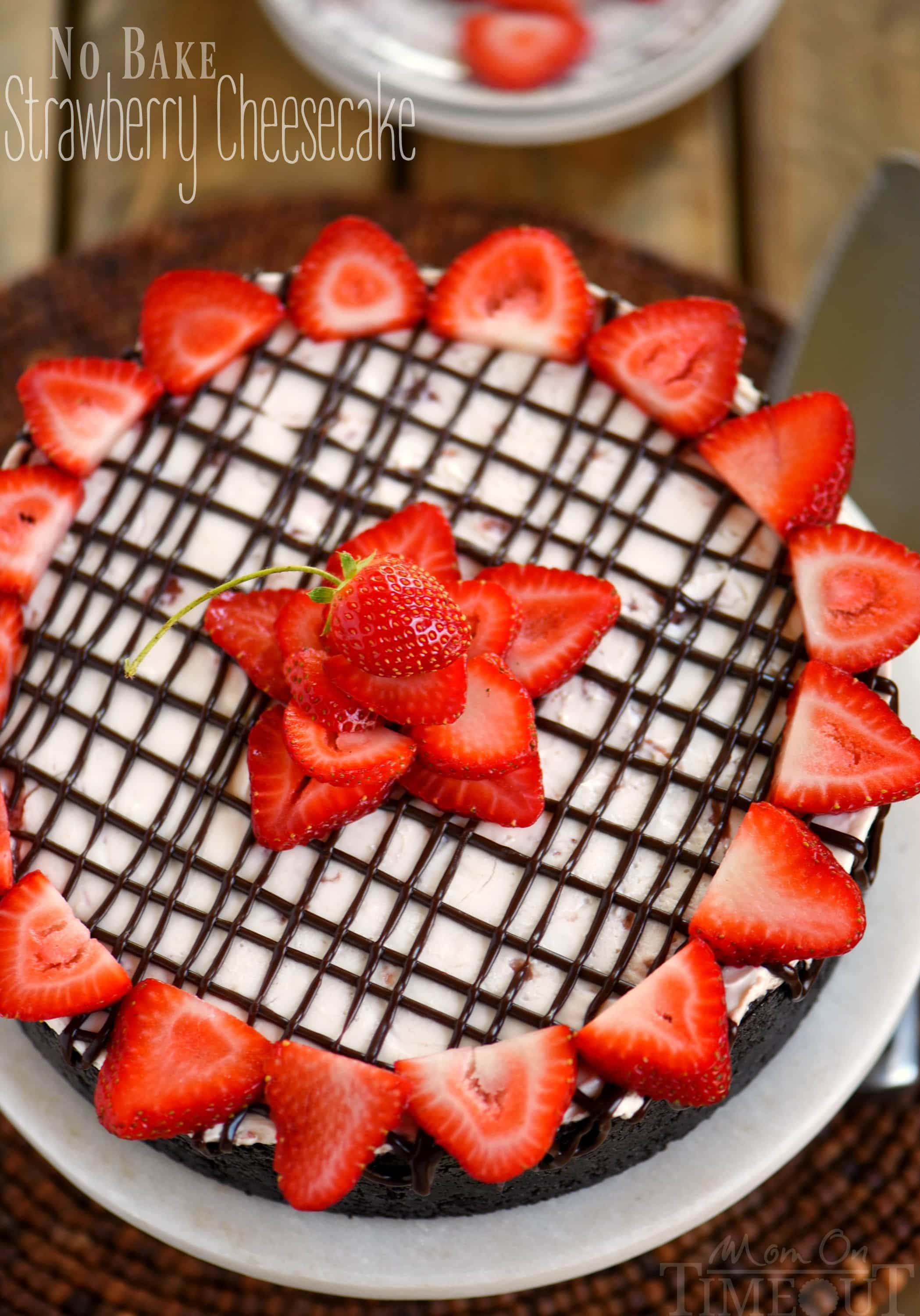 no-bake-cheesecake-recipe-strawberry-chocolate
