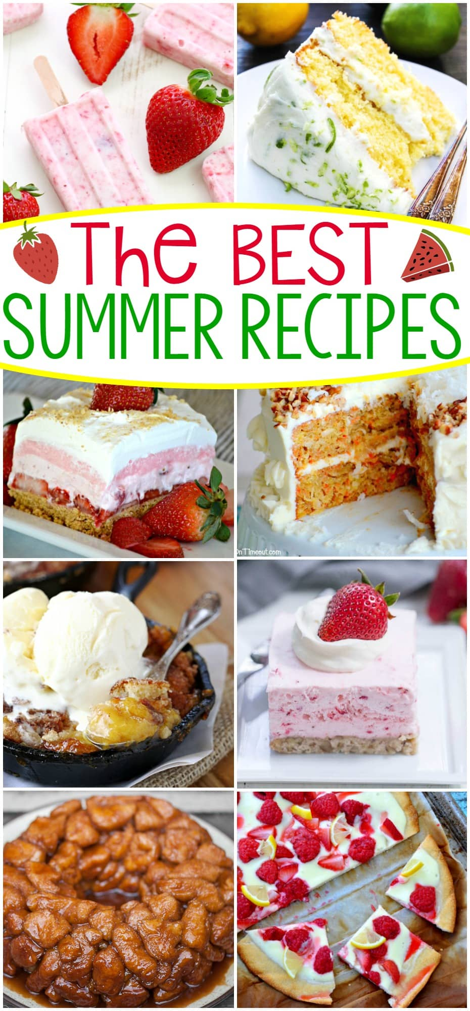 Summer isn't over yet! Add these great recipes to your summer bucket list today! Lots of the Best Summer Recipes to choose from!