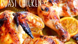 Citrus Glazed Roast Chicken