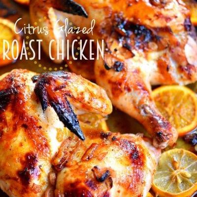 Citrus Glazed Roast Chicken