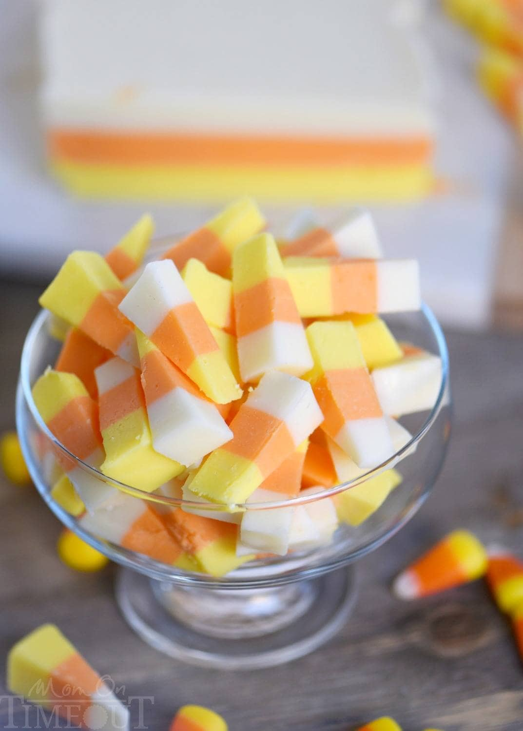 Candy Corn Fudge Video This Easy Candy Corn Fudge recipe is going to become an annual tradition! Layers of