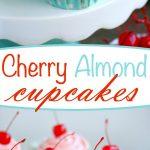 cherry-almond-cupcakes-collage