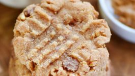 Flourless Toffee Peanut Butter Cookies