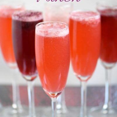 Berry Champagne Punch