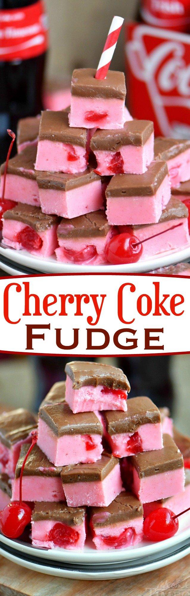 cherry-coke-fudge-collage
