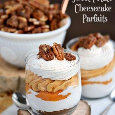 Sweet Potato Cheesecake Parfaits