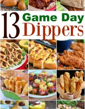 13 Game Day Dippers + $250 Giveaway!