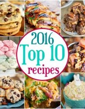 2016 Top Ten Recipes