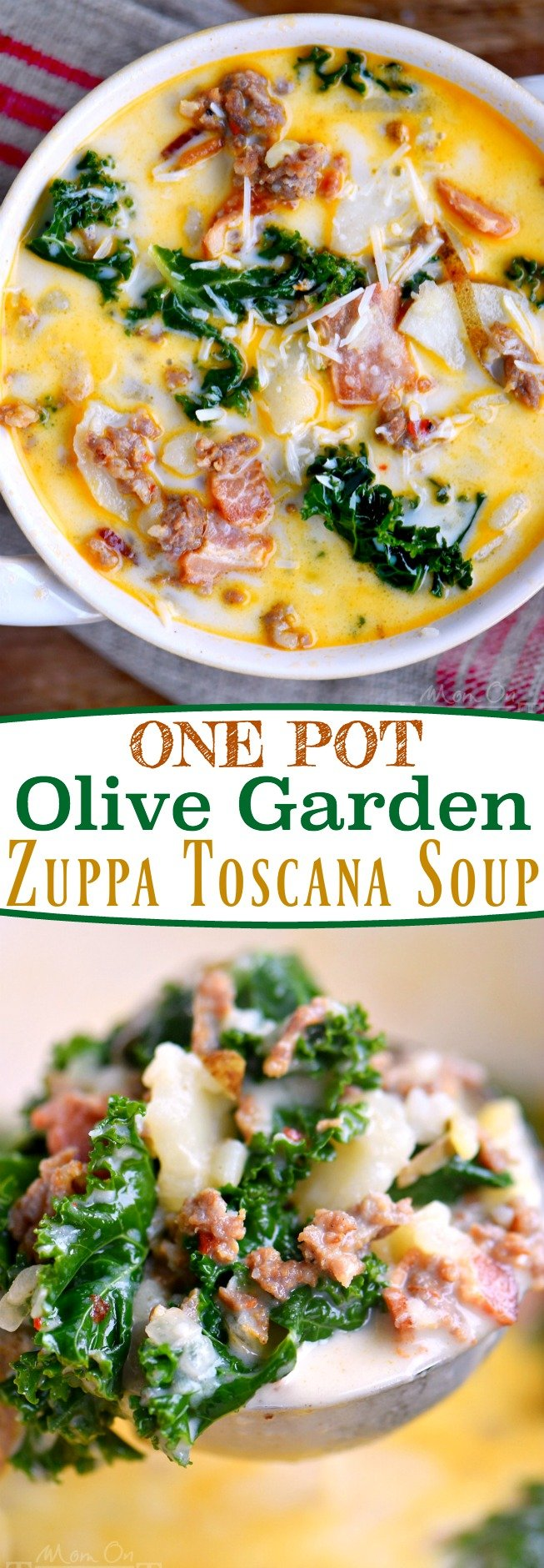 One pot olive garden zuppa toscana soup mom on timeout for Olive garden potato sausage kale soup recipe