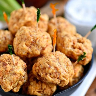 Spicy Italian Sausage Cheese Balls