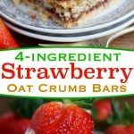 strawberry-oat-crumb-bars-collage