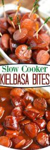 slow-cooker-kielbasa-bites-collage