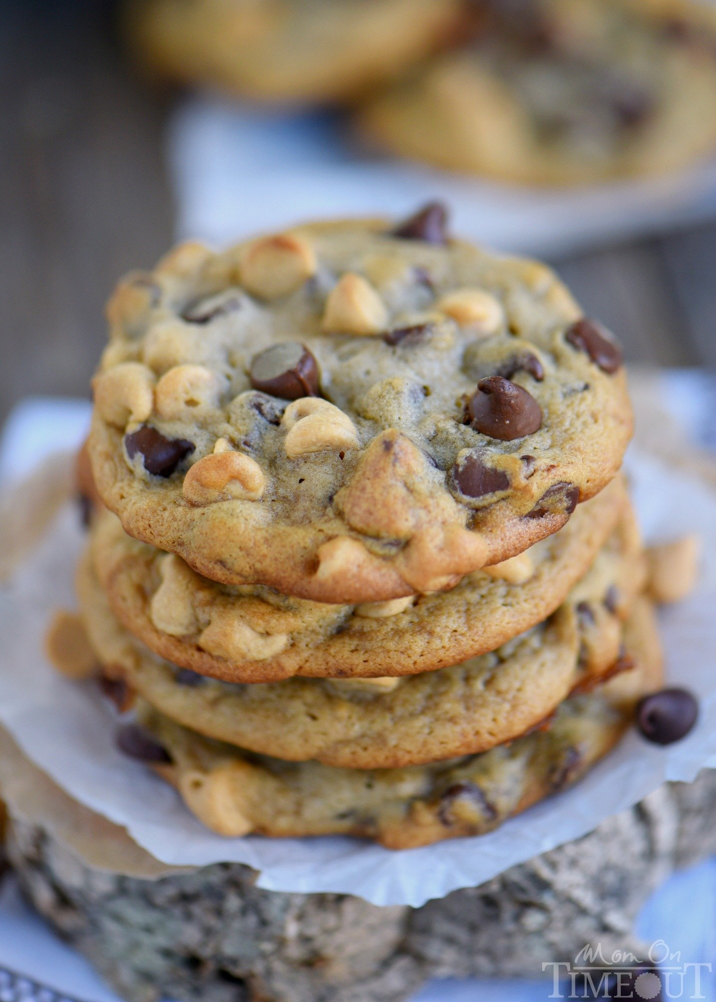 Peanut Butter Banana Chocolate Chip Cookies - Mom On Timeout