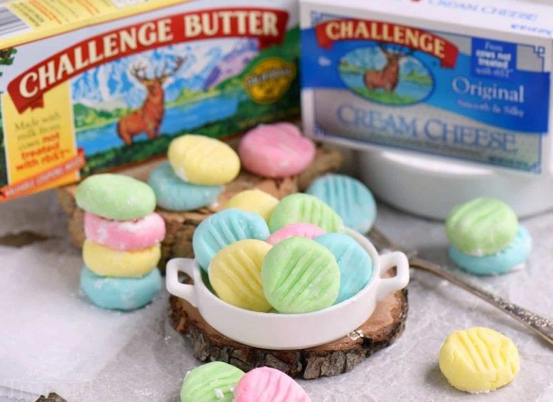 The BEST Cream Cheese Mints - Mom On Timeout