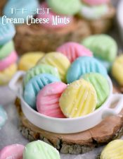 The BEST Cream Cheese Mints