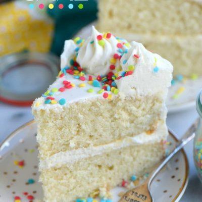 Very Vanilla Cake