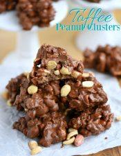 Toffee Peanut Clusters + $300 Giveaway!