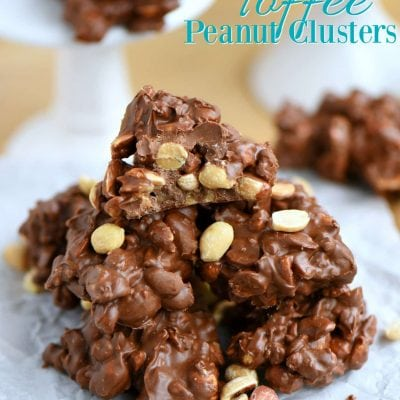 Toffee Peanut Clusters + $300 Giveaway!