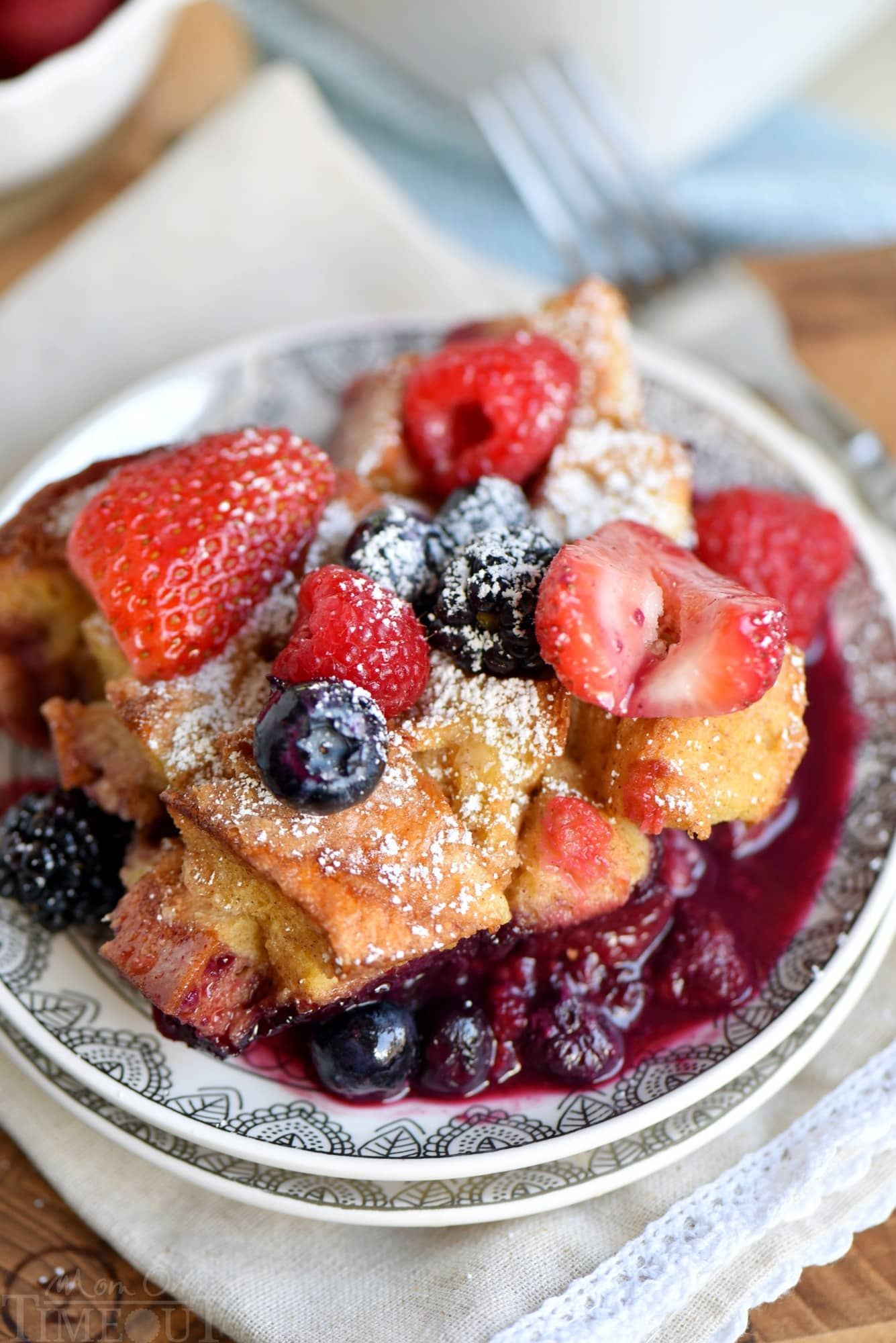 This Triple Berry French Toast Casserole Is Going To Be A New Family  Favorite! Incredibly