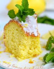 Easy Lemon Bundt Cake