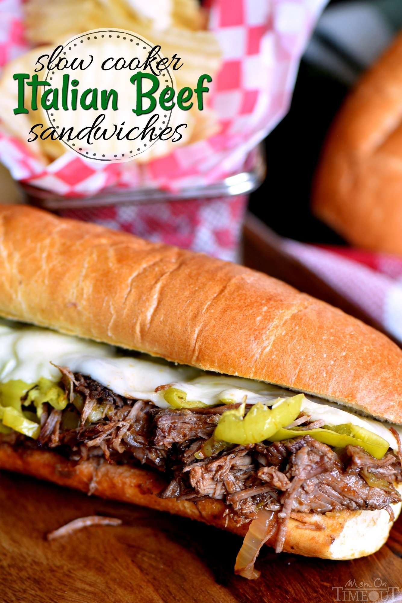 Slow Cooker Italian Beef Sandwich Recipe