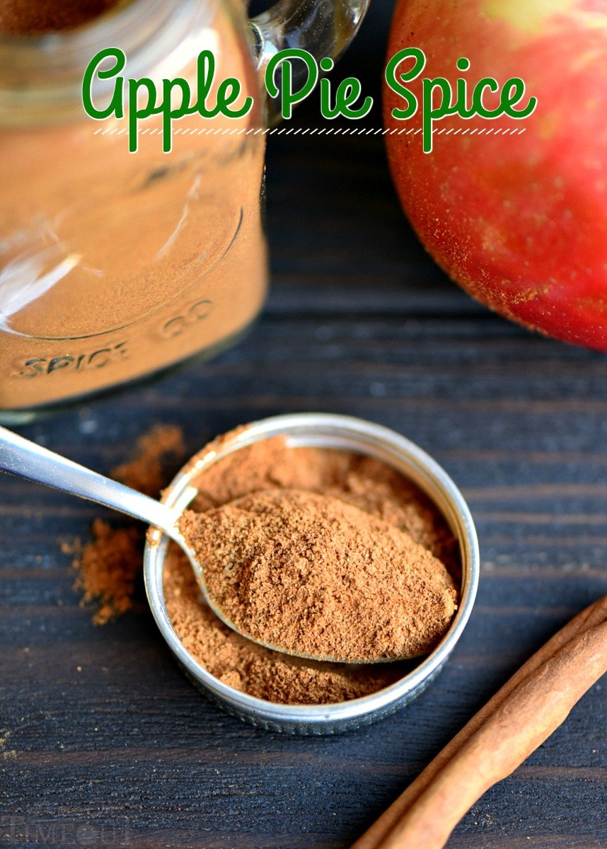 apple pie spice mix recipe spoonful of mix