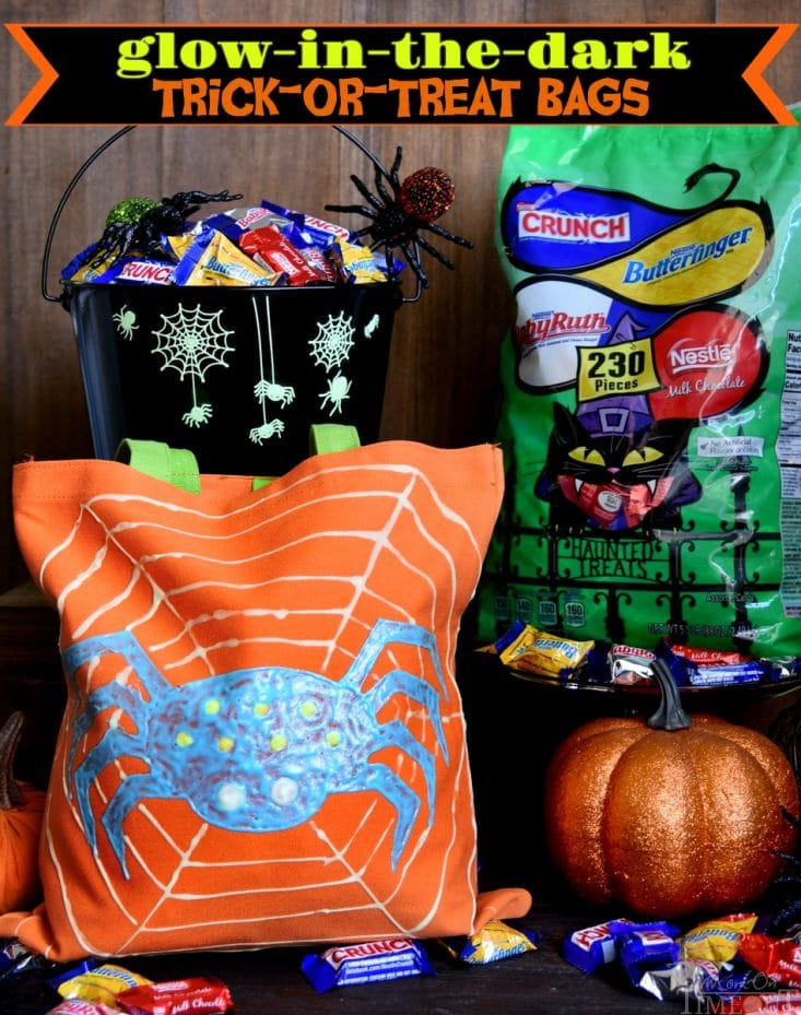 Make this Halloween the best yet with these DIY Glow-in-the-Dark Trick-or-Treat Bags featuring your favorite Nestlé candies! Fun, easy, and spook-tacular!