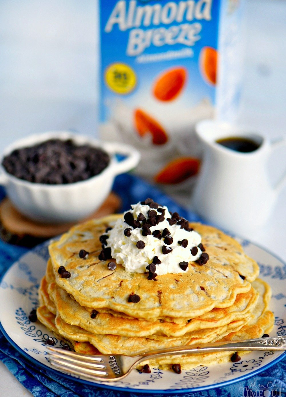 chocolate chip pancakes dairy free