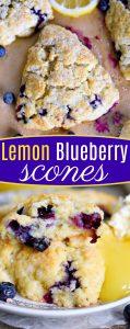 lemon-blueberry-scones-recipe-collage