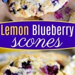 lemon-blueberry-scones-recipe-collage