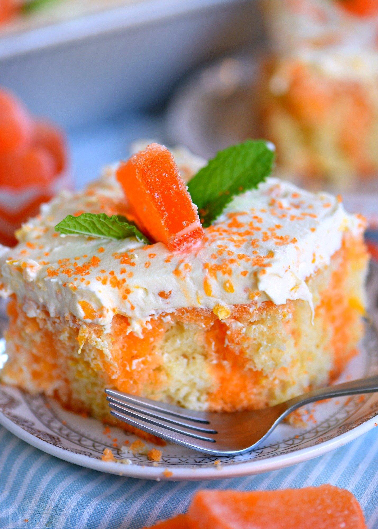 Orange Creamsicle Cake Mom On Timeout