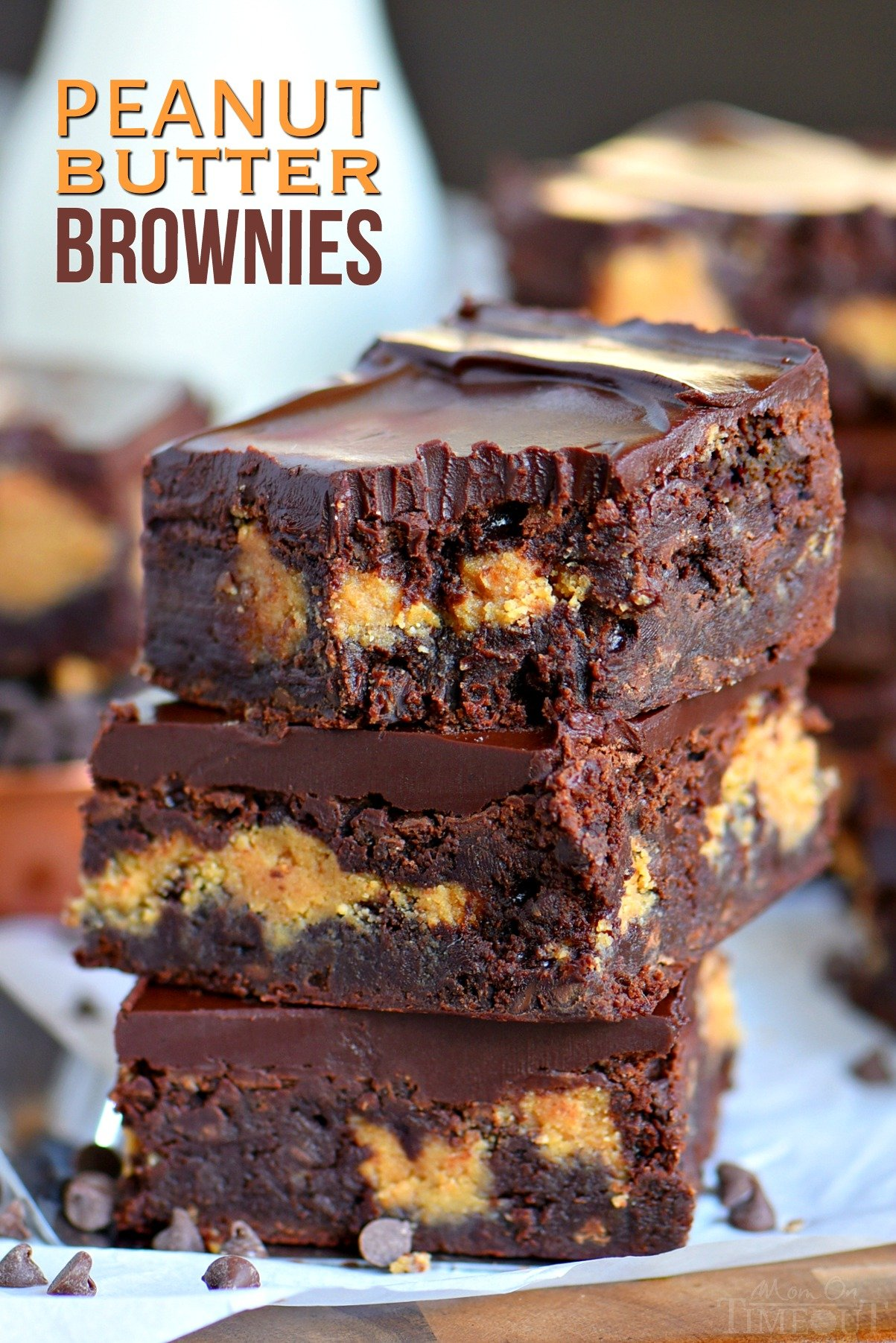 Peanut Butter Fudge Brownie Cake