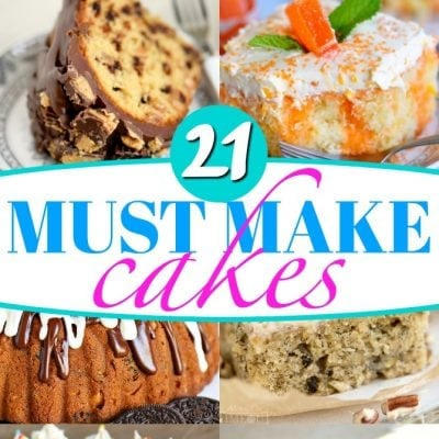 21 Must Make Cake Recipes