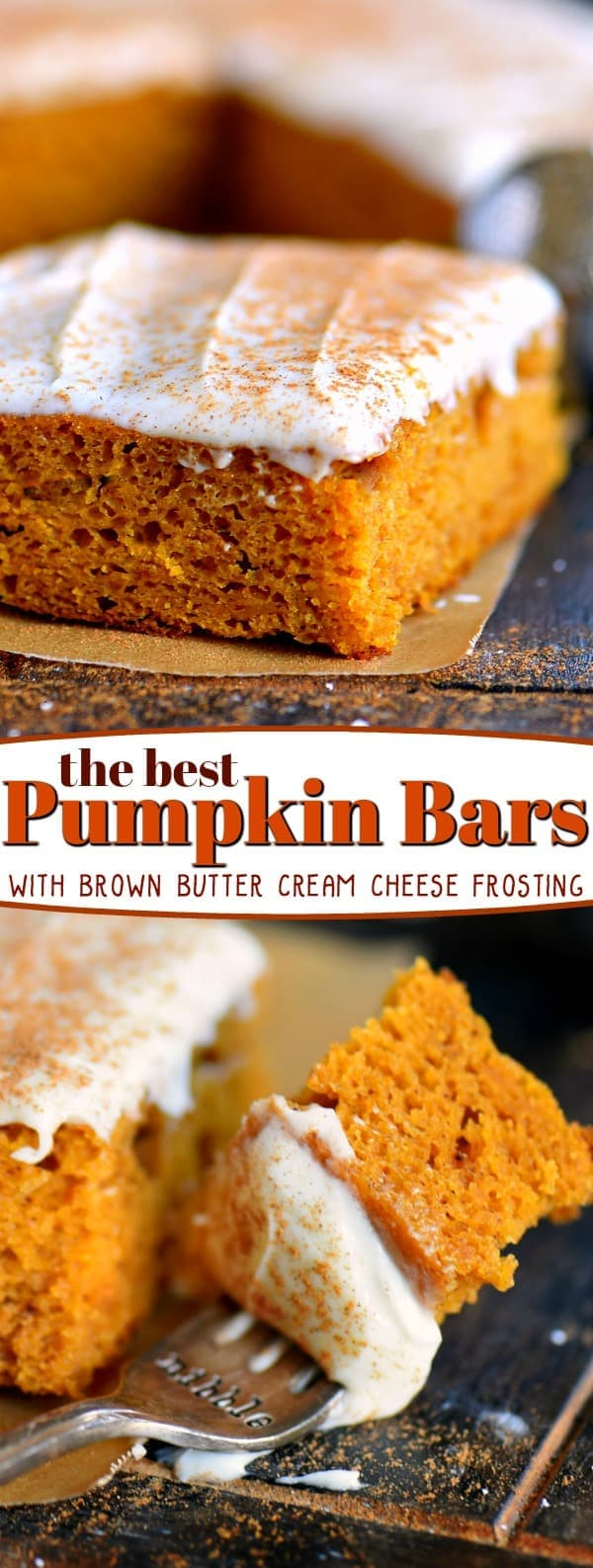 best-pumpkin-bars-recipe-collage