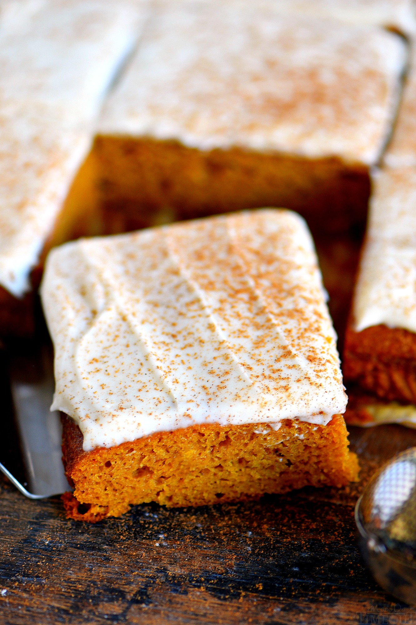 The Best Pumpkin Bars With Brown Butter Cream Cheese Frosting Mom On Timeout