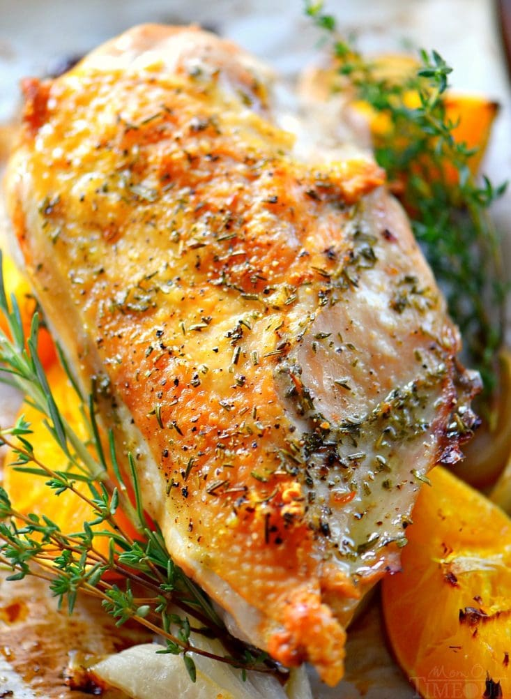 Citrus Herb Roast Turkey Breast Mom On Timeout