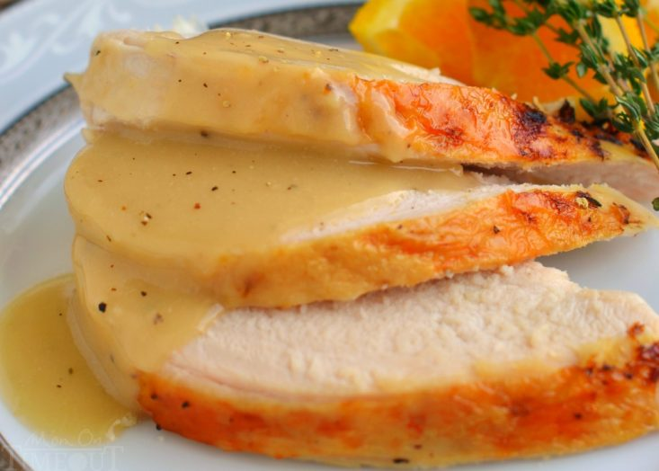 crockpot turkey breast recipe with gravy